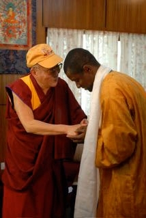 New Era CC founder Emmaneul Ivorgba receives top honor from the Dalai Lama
