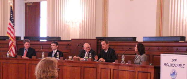 EIFRF Chairman invited as a speaker to IRF Roundtable annual event in Washington
