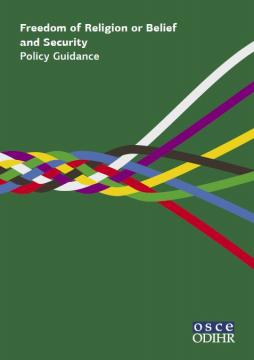 OSCE/ODIHR releases new important guidelines on FoRB and security
