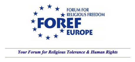 FOREF-Europe names Aaron Rhodes President
